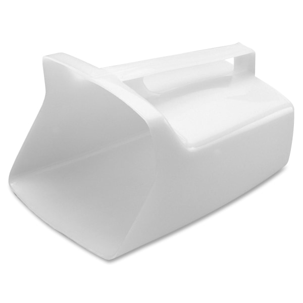 Rubbermaid Commercial Utility Scoop - 1 Piece(s) - 1Each - Dishwasher Safe - Polycarbonate - White, Clear