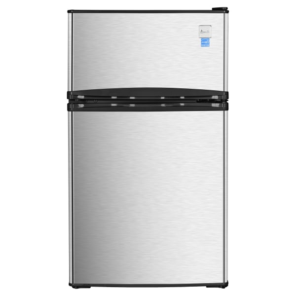 Avanti RA31B3S Counterhigh Refrigerator, Black/Stainless Steel