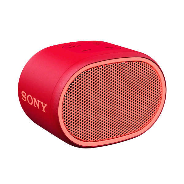 Sony XB01 Bluetooth Compact Portable Speaker, Red, SRSXB01/R