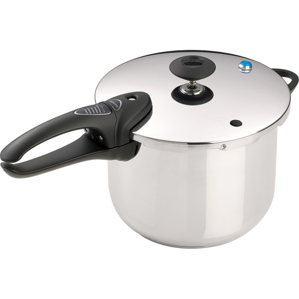 Presto Cook Ware - 6 quart Pressure Cooker - Stainless Steel - Dishwasher Safe