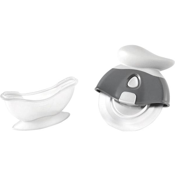 Starfrit Tritan Blade Pizza Wheel - Cutting - Dishwasher Safe - Plastic, Tritan