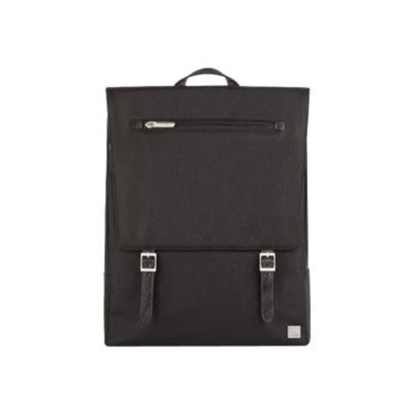 Moshi Helios Designer Laptop Backpack - Charcoal Black for Laptops up to 15  , Weather Resistant, Vegan Leather Trim, RFID Pocket
