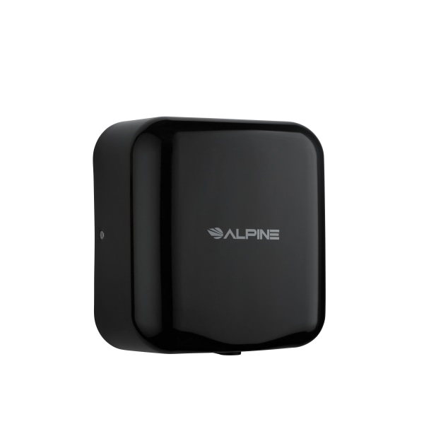 Alpine Hemlock Commercial Automatic High-Speed Electric Hand Dryer, Black