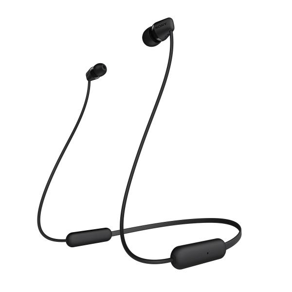 Sony WIC200 Wireless Earbuds, Black