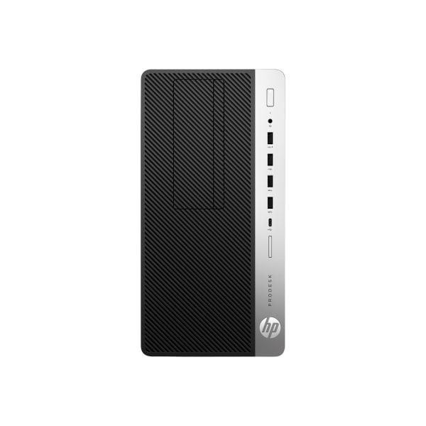 HP Business Desktop ProDesk 600 G5 Desktop Computer - Intel Core i5 9th Gen i5-9500 3 GHz - 4 GB RAM DDR4 SDRAM - 500 GB HDD - Micro Tower - Windows 1
