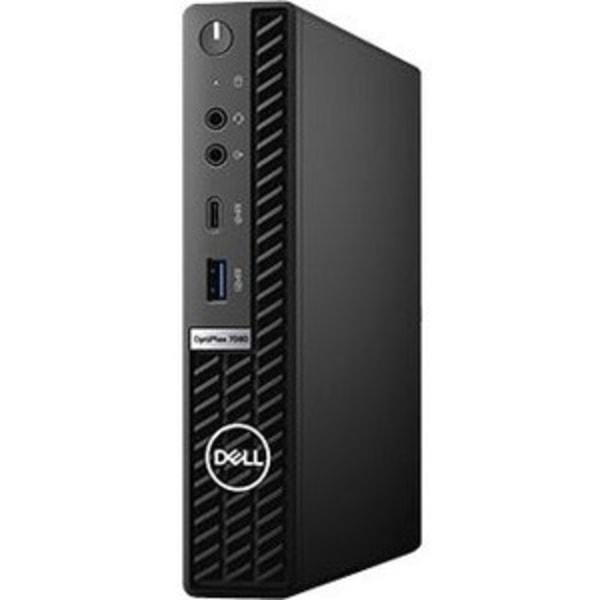 Dell OptiPlex 7000 7080 Desktop Computer - Intel Core i7 10th Gen i7-10700 Octa-core (8 Core) 2.90 GHz - 8 GB RAM DDR4 SDRAM - 256 GB SSD - Micro PC -