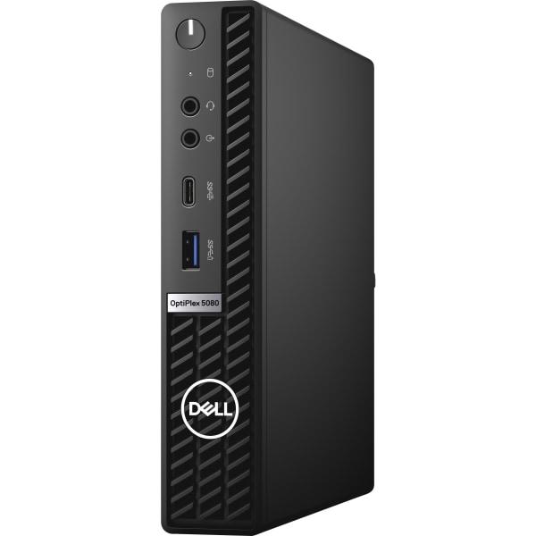 Dell OptiPlex 5000 5080 Desktop Computer - Intel Core i5 10th Gen i5-10500T Hexa-core (6 Core) 2.30 GHz - 16 GB RAM DDR4 SDRAM - 256 GB SSD - Micro PC