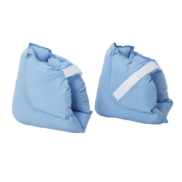 DMI Soft Comforting Heel Protector Pillows, Blue, Pack Of 2