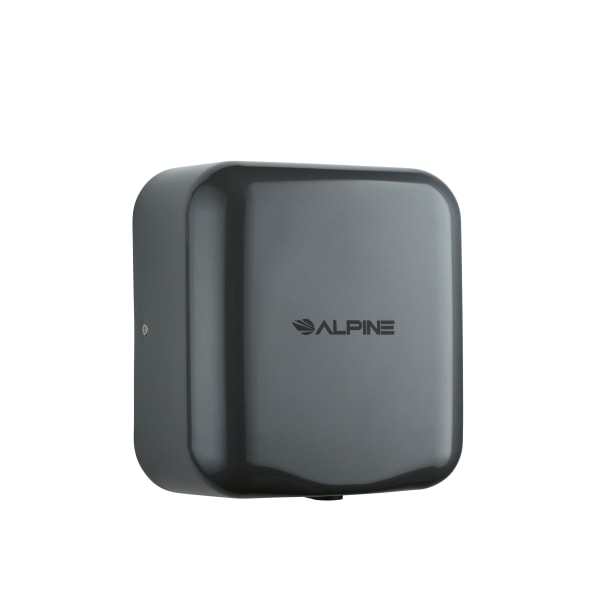 Alpine Industries Hemlock 120 Volt Steel Electric Commercial Automatic Touchless Hand Dryer, Gray