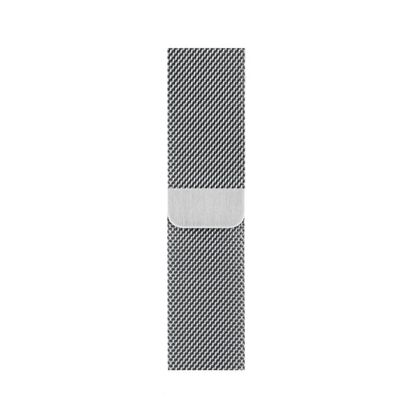OTM Essentials Stainless Steel Mesh Band For Apple Watch, Silver