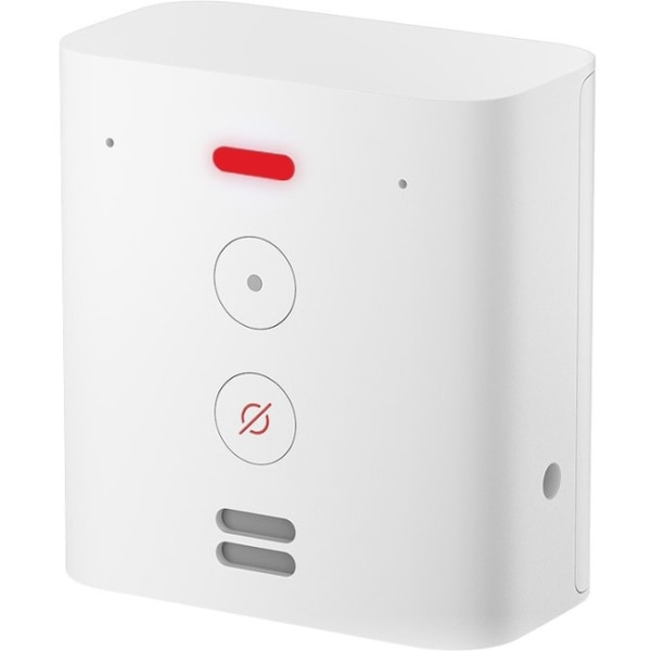 Amazon Echo Flex Bluetooth Smart Speaker - Alexa Supported - White - Wireless LAN - USB