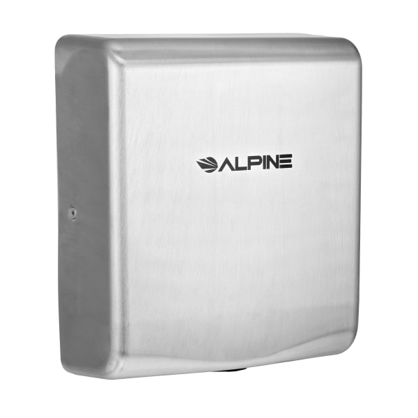 Alpine Industries Willow 120 Volt Steel Electric Commercial Stainless Steel Automatic Touchless Hand Dryer