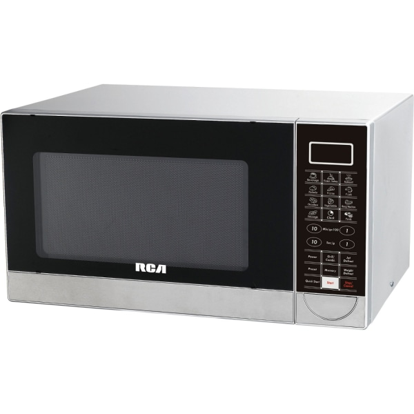 RCA RMW1182 Microwave Oven - Single - 8.23 gal Capacity - Microwave, Grilling - 10 Power Levels - 1000 W Microwave Power - 1000 W Grill Power - Stainl