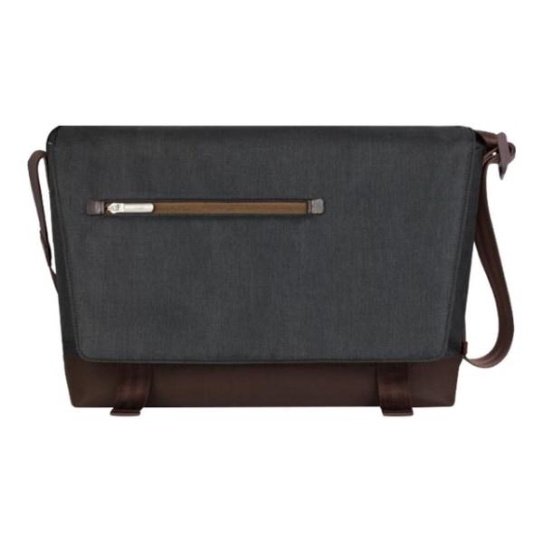Moshi Aerio Laptop Messenger Bag - Charcoal Black for 15  Laptops