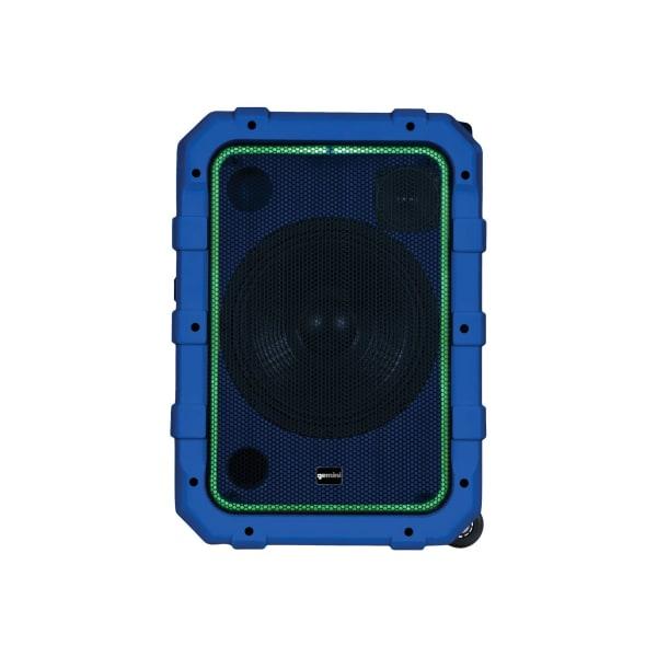 Gemini MPA-2400 - Speaker - wireless - Bluetooth - 2-way - blue