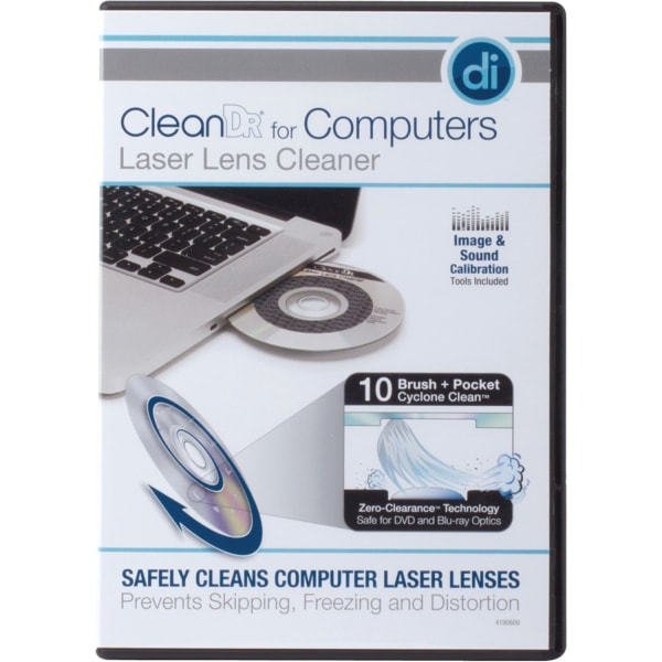 CleanDr Computers Laser Lens Cleaner - For Optical Drive