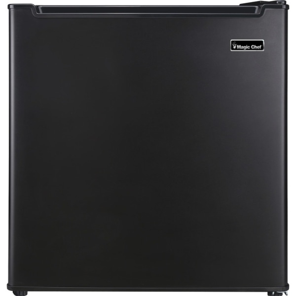 Magic Chef 1.7 cu. ft. Mini Refrigerator - 1.70 ft - Reversible - 1.70 ft Net Refrigerator Capacity - 245 kWh per Year - Black