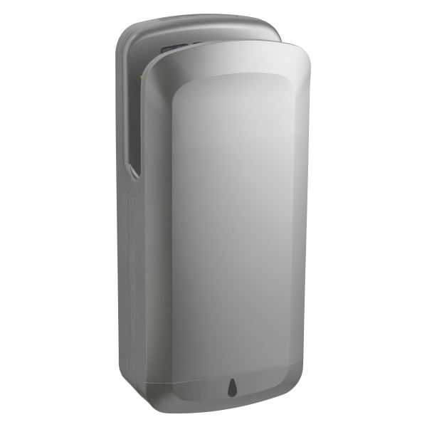 Alpine Industries Oak 120 Volt Steel Electric Commercial Touchless Hand Dryer, Gray