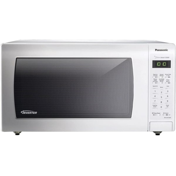 Panasonic NN-SN736W Microwave Oven - Single - 11.97 gal Capacity - Microwave - 10 Power Levels - 1250 W Microwave Power - 15  Turntable - 120 V AC - C
