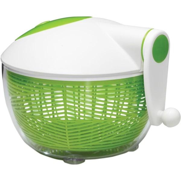 Starfrit Salad Spinner - Serving - Dishwasher Safe - Green/White