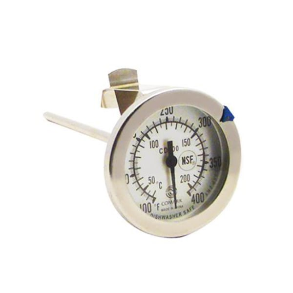Comark Candy Thermometer, 100 - 400F, Silver