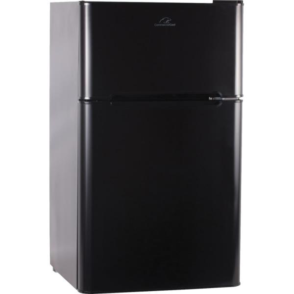 Commercial Cool CCRD32B 2.35 Cu Ft Refrigerator/Freezer, Black