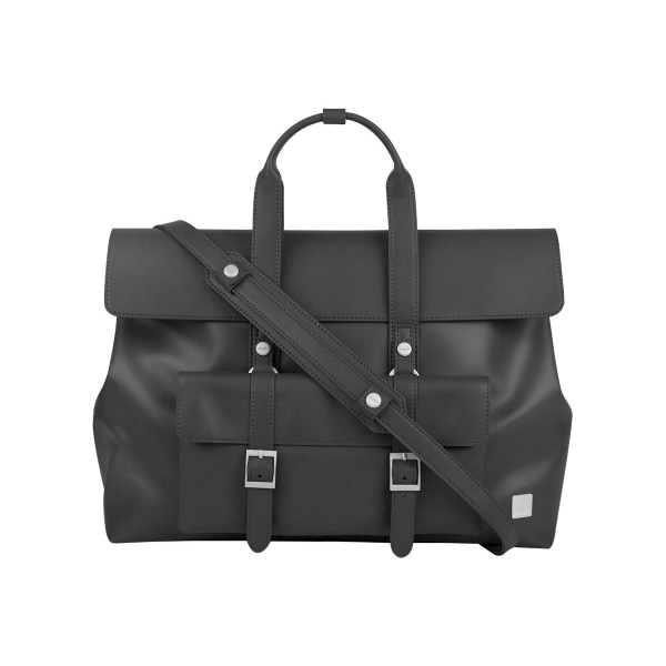 Moshi Treya Lite - Backpack Satchel/Backpack - Jet Black, Three-in-one Messenger, Backpack, Satchel for Laptops up to 13
