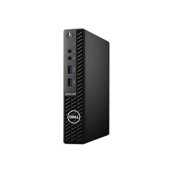 Dell OptiPlex 3000 3080 Desktop Computer - Intel Core i5 10th Gen i5-10500T Hexa-core (6 Core) 2.30 GHz - 4 GB RAM DDR4 SDRAM - 128 GB SSD - Micro PC