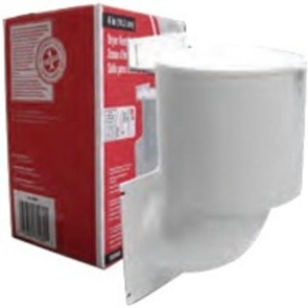 Lambro 289W 4  Dryer Vent Seal - for Dryer - White