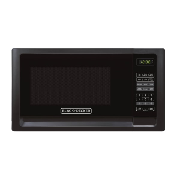 Black & Decker EM031MFO-X1 1.1 Cu Ft Microwave, Black