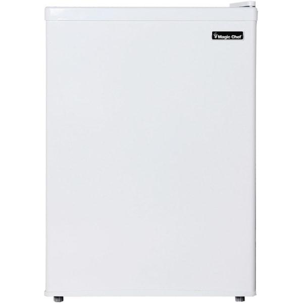 Magic Chef 2.4 cu. ft. Mini Refrigerator - 2.40 ft - Manual Defrost - Reversible - White