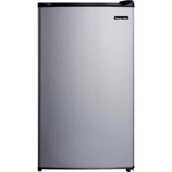 Magic Chef 3.5 Cu Ft Mini Refrigerator, Stainless