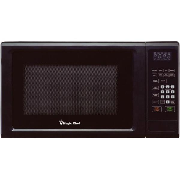 MC Appliance MCM1110B Microwave Oven - Single - 8.23 gal Capacity - Microwave - 10 Power Levels - 1000 W Microwave Power - 110 V AC - Black