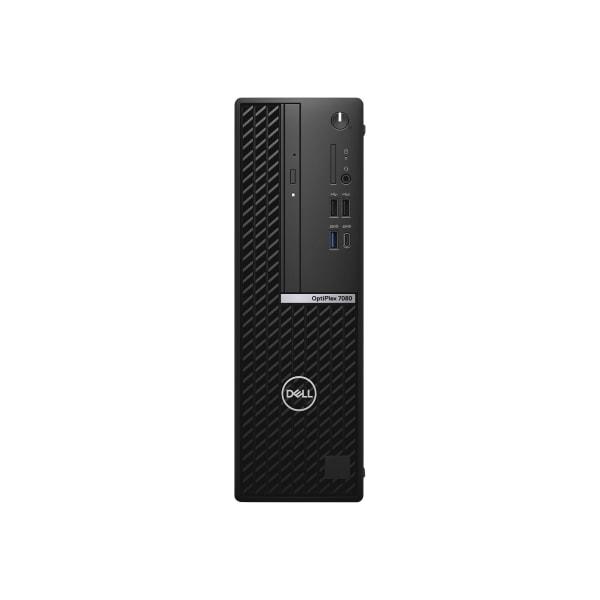 Dell OptiPlex 7000 7080 Desktop Computer - Intel Core i5 10th Gen i5-10500 Hexa-core 6 Core 3.10 GHz - 8 GB RAM - 128 GB SSD - Windows 10 Pro 64-bit -
