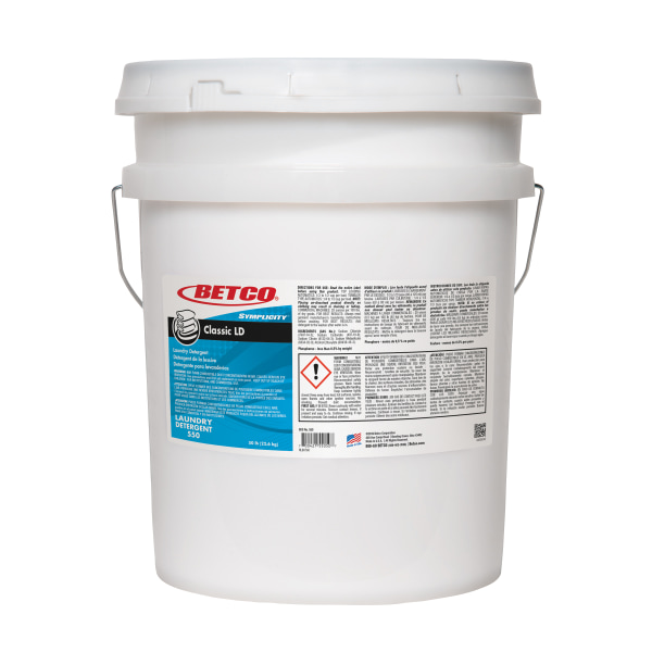 Betco� Symplicity� Classic Laundry Detergent, Citrus Scent, 50 Lb Container -  5505000