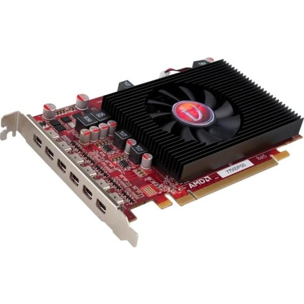 VisionTek Radeon HD 7750 Graphic Card - 2 GB GDDR5 - DirectX 11.0 - 6 x Mini DisplayPort - PC, Mac - 6 x Monitors Supported
