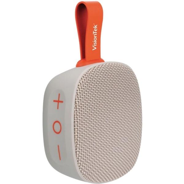 VisionTek SoundCube - Speaker - for portable use - wireless - NFC, Bluetooth - 5 Watt - gray