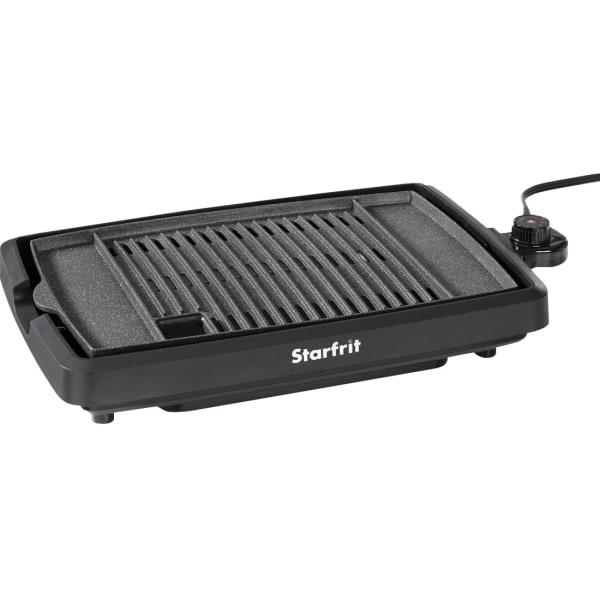 Starfrit The Rock Indoor Smokeless Electric BBQ Grill - 1200 W - Electric - Indoor