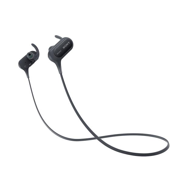 Sony Extra Bass Sports Wireless In-Ear Headphones, Black, MDRXB50BS/B