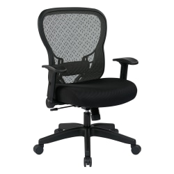 Office Star™ SPACE Seating Deluxe R2 SpaceGrid® Task Chair, Black