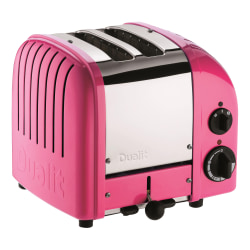 Dualit® NewGen Extra-Wide Slot Toaster, 2-Slice, Chilly Pink