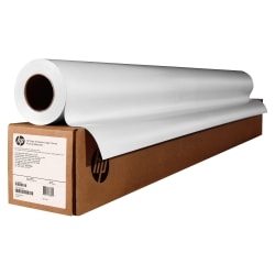 """HP Q6574A Universal Instant-Dry Gloss Wide Format Roll, 24"""" x 100', 35 Lb"""