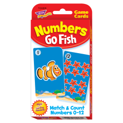 Trend Enterprise Numbers Go Fish Challenge Cards