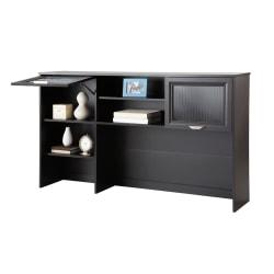 """Realspace® Magellan 58""""W Hutch For Corner/L-Desk, Espresso"""