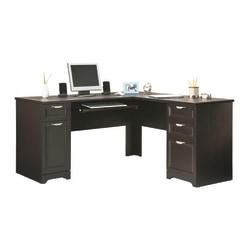 """Realspace® Magellan 59""""W L-Shaped Desk, Espresso"""