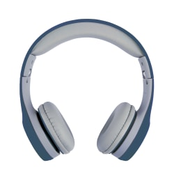 Ativa™ Junior On-Ear Wired Headphones, Blue/Gray, WD-LG01-BLUE-GRAY