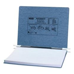 "Wilson Jones® Presstex® Data Binder With Retractable Hooks, 11"" x 14 7/8"", 60% Recycled, Light Blue"