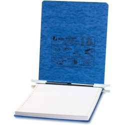 Wilson Jones® Presstex® Pressboard Data Binder, 50% Recycled, Light Blue