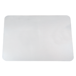 """Realspace® Desk Pad With Antimicrobial  Protection, 17"""" H X  22"""" W, Clear"""
