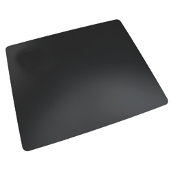 """Realspace® Ultra-Smooth Writing Surface With Antimicrobial Protection,   17"""" H x 24"""" W, Black"""